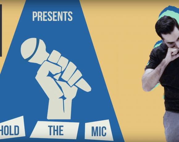 standup comedy how to hold mic