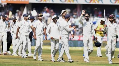 India Secure First test Victory