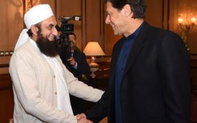 Imran Khan is with Maulana Tariq