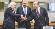 Russia Iran and Turkey