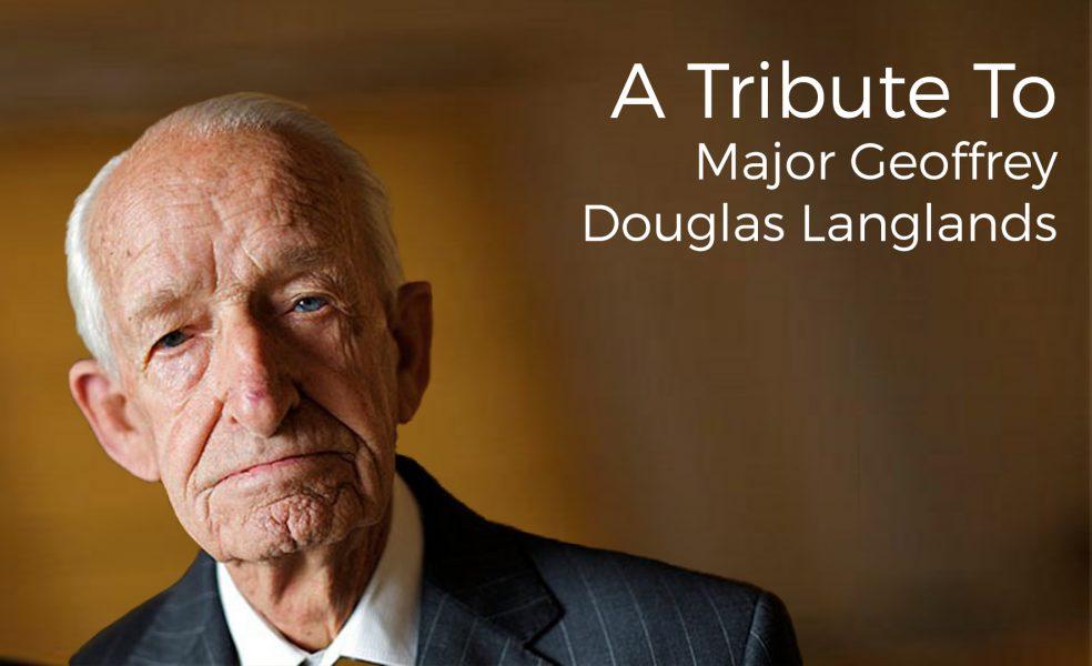 Major Geoffrey Douglas Langlands