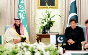 Imran Khan and Crown Prince Muhammad Salman