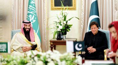 Imran Khan and Crown Prince Muhammad Salman