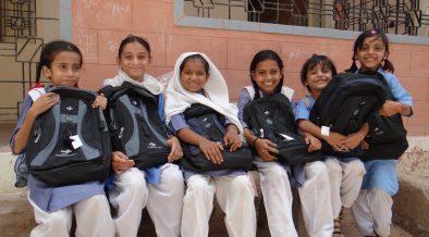 Salma is helping Street kids