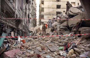 building collapse in lyari